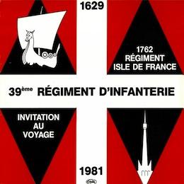 INVITATION AU VOYAGE - 1762 RÉGIMENT ISLE DE FRANCE