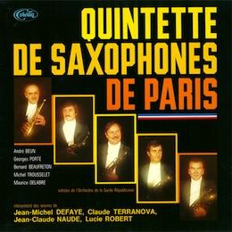 QUINTETTE DE SAXOPHONES DE PARIS