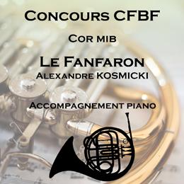 LE FANFARON pour Cor