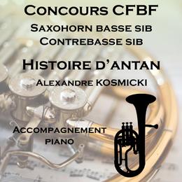 HISTOIRE D'ANTAN pour Saxhorn