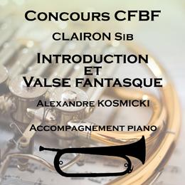 INTRODUCTION et VALSE FANTASQUE pour Clairon
