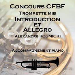 INTRODUCTION ET ALLEGRO pour Trompette