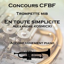 EN TOUTE SIMPLICITÉ pour Trompette